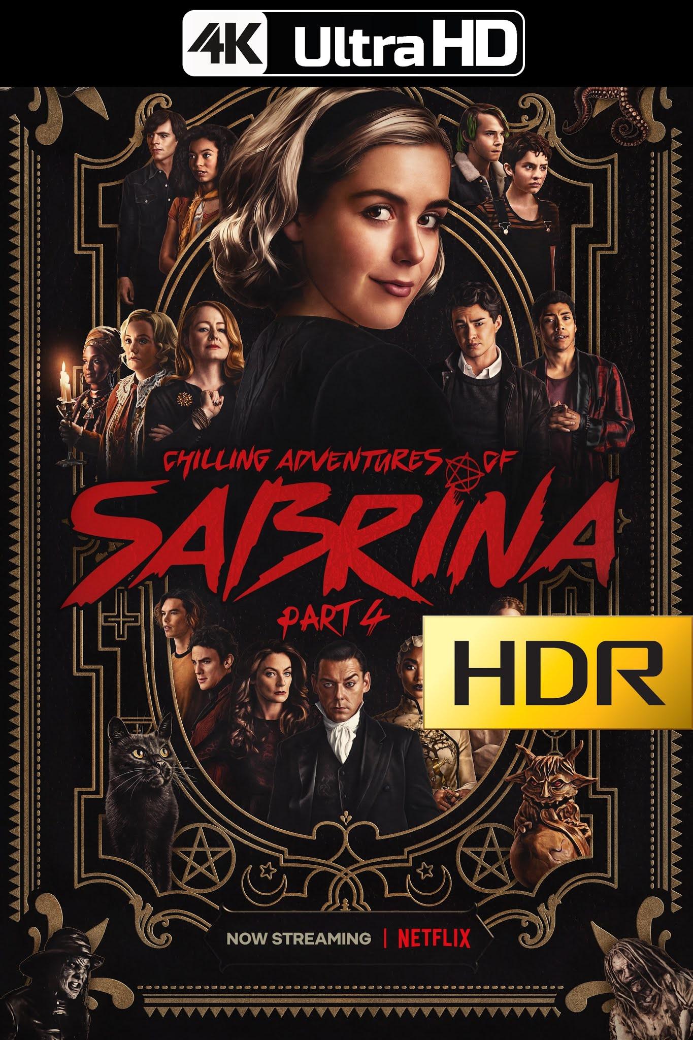 Chilling Adventures of Sabrina (2020) Temporada 02/Parte 04 NF WEBRip 4K UHD HDR Latino