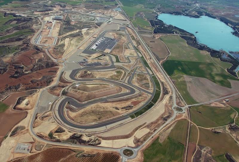 Circuito Alcañiz : Pilotos españoles por el mundo km alcañiz