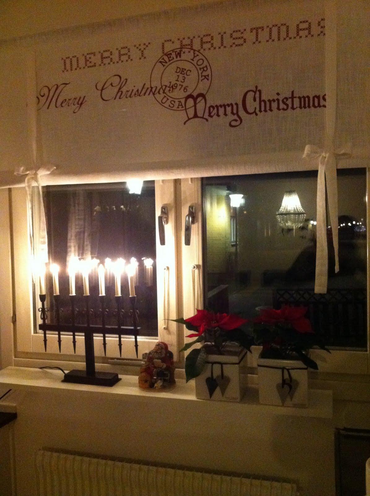 Sideboard Till Kok : Hor var det julstjornor i koksfonstretso mysigt