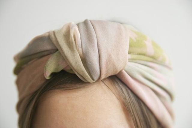 Tendance autour du foulard
