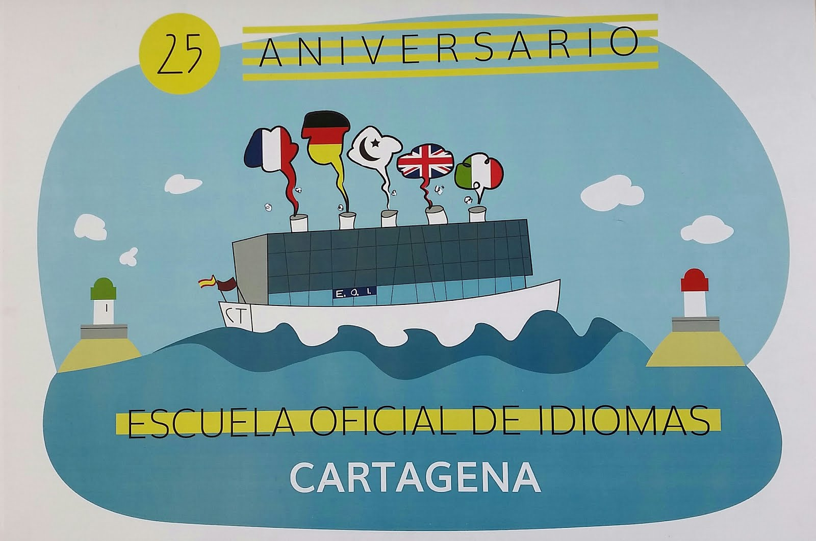 Anniversary Poster by Leo Bódalo