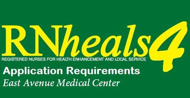 East Avenue Medical Center Website http://nurseonlineph.blogspot.com/2012/09/rn-heals-4-application-requirements-for.html