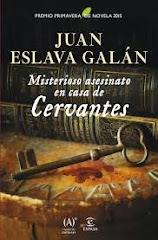 'Misterioso asesinato en casa de Cervantes' de Juan Eslava Galán