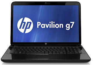 HP Pavilion g7-2051sg Specifications