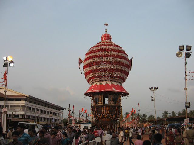 Temple Chariot of Putturu Shri Mahalingeshwara Temple