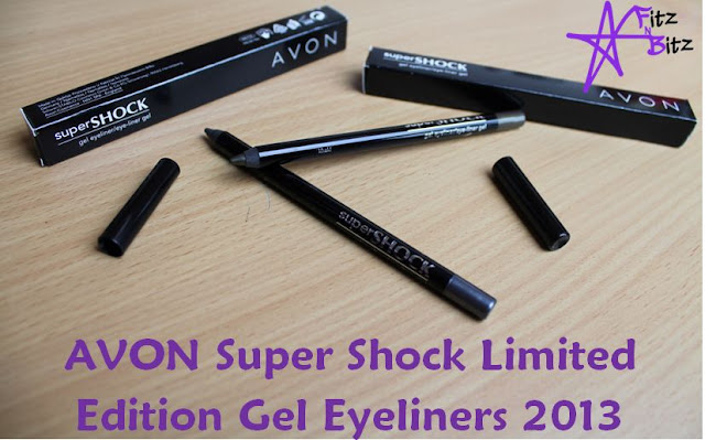 Avon SuperShock Limited Edition S/S'13 Gel Eyeliners