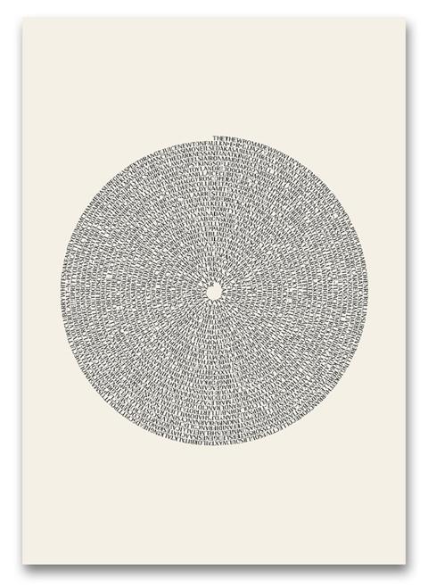 WALL of SOUND - Black Vinyl   Limited Edition Print by Marika Järv