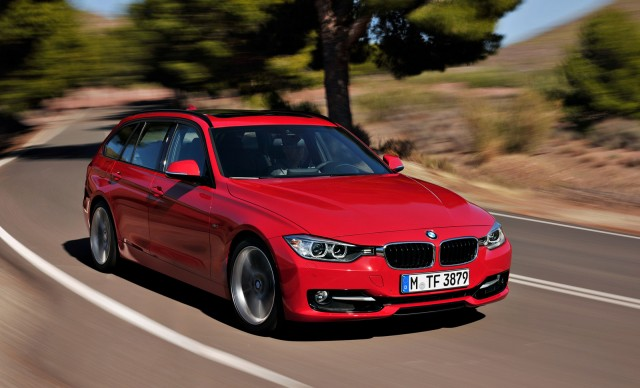 2013 BMW 328i Sports Wagon passanger exterior