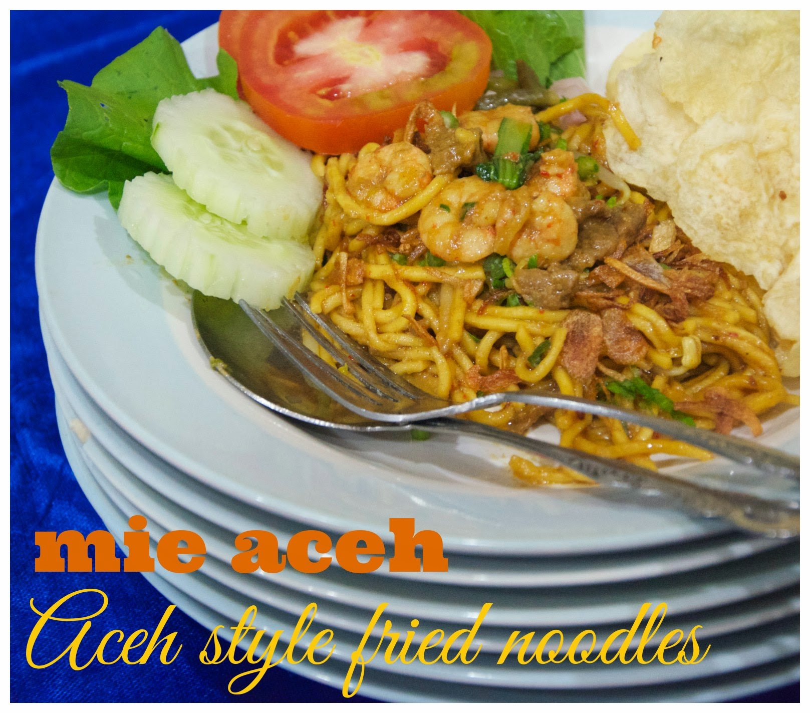 how to make indonesian fried noodles