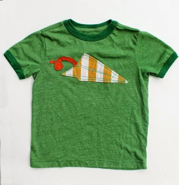 Applique Paper Airplane TrashN2Tees