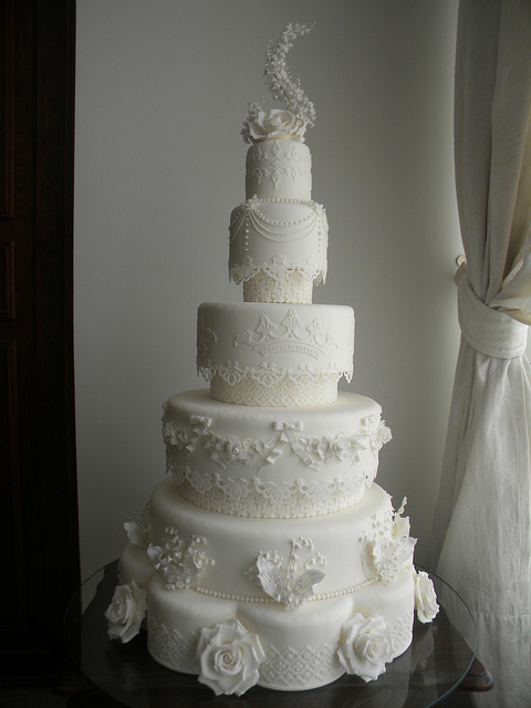 Kate Middleton Royal Wedding Cake My Version