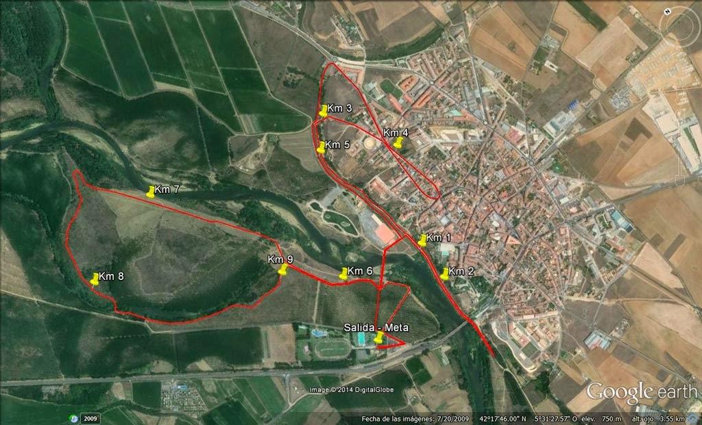circuito carrera cachon valencia de don juan
