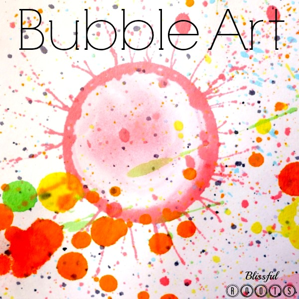 Bubble Art @ Blissful Roots