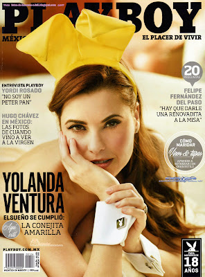 Yolanda Ventura (exparchis) en la revista Play Boy 2013