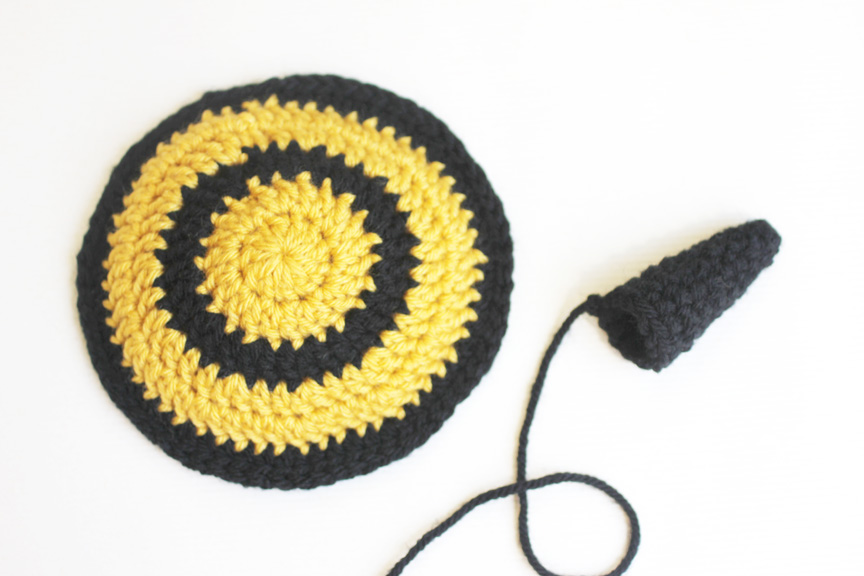 Crochet Bumble Bee Hat And Tushie Cover Pattern Repeat Crafter Me