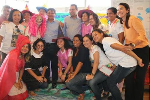 Wellington Dias e Margarete Coelho se encantam com 5º Salipa