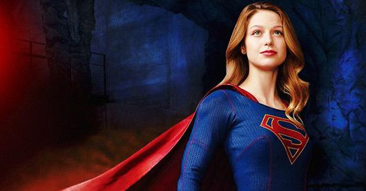 Imagen promocional de Melissa Benoist como Supergirl