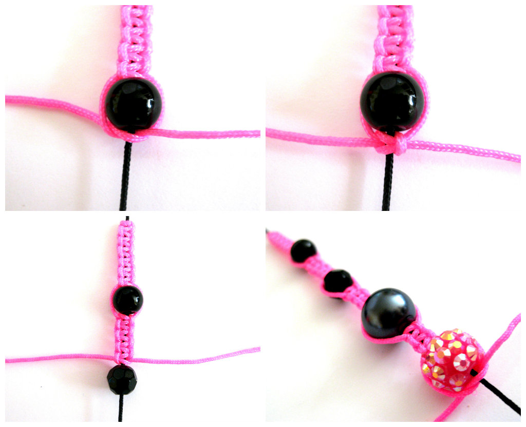 tutoriel comment faire un bracelet shamballa le blog de miss kawaii. Black Bedroom Furniture Sets. Home Design Ideas