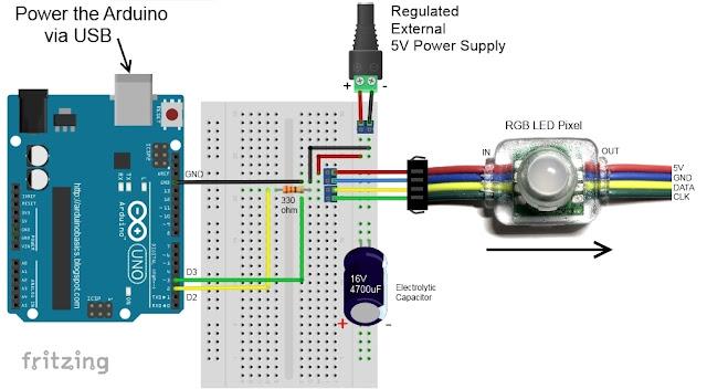 power - Powering an Arduino UNO through 5V - Stack