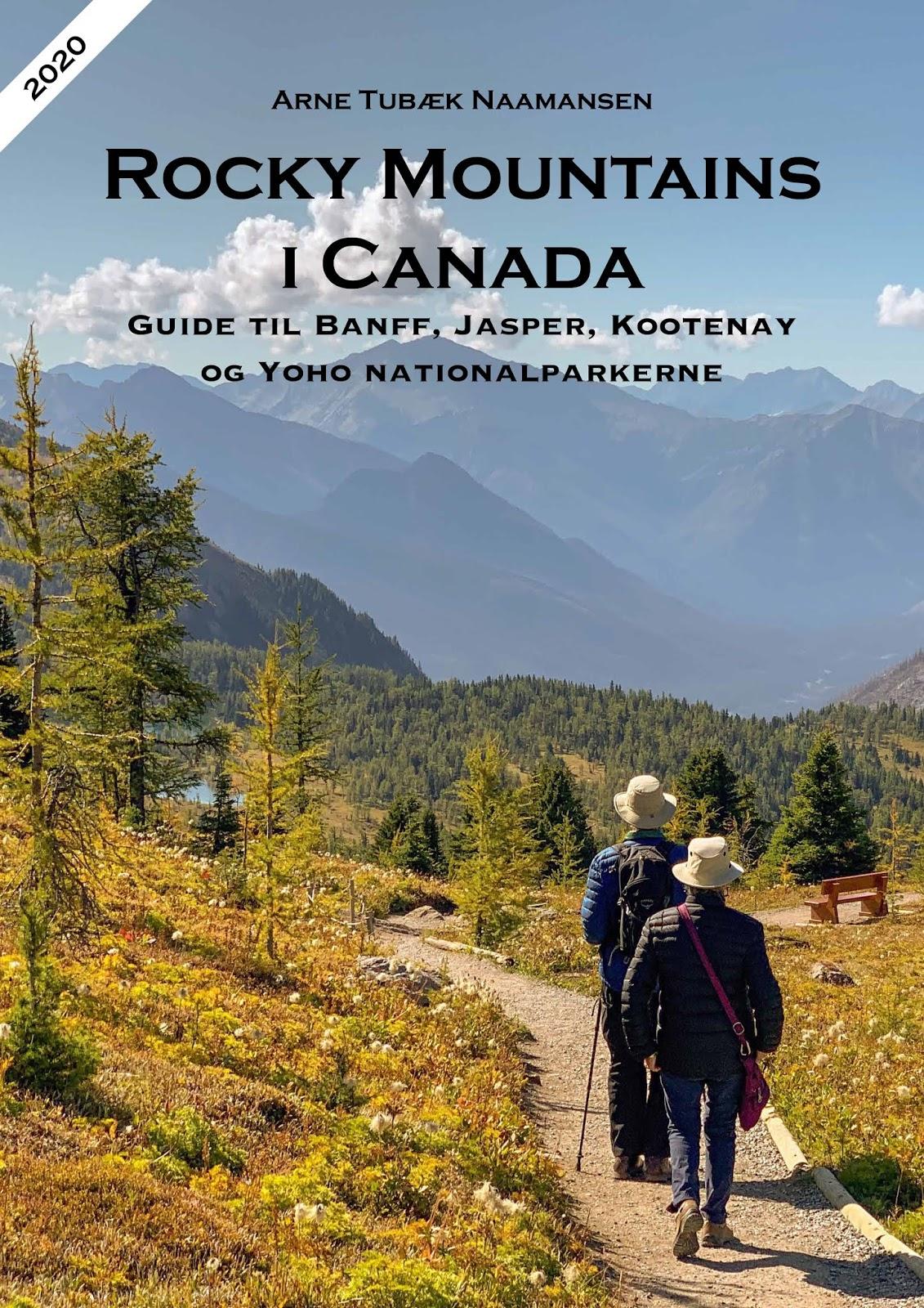 2020 udgave af Rocky Mountains i Canada PDF-eBog