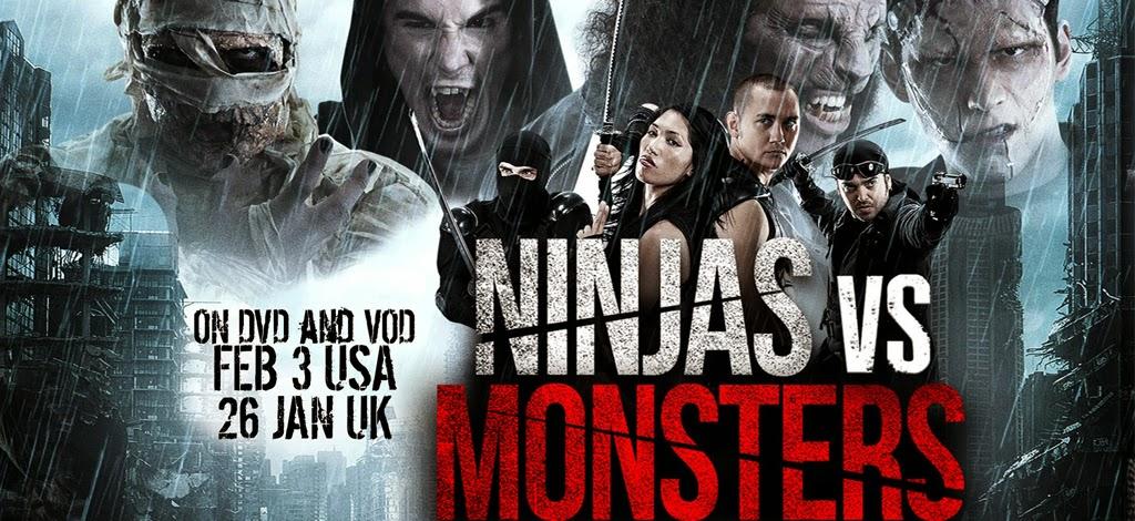 Ninja Đại Chiến Quái Vật - Ninjas vs Monsters (2013)