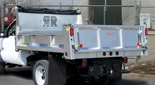 1 Ton Dump Body : Commercial truck success stainless steel dump bodies