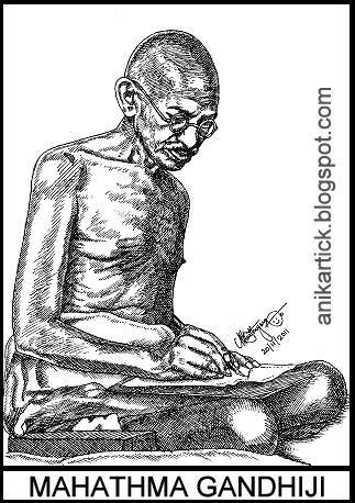 essays on mahatma gandhi for kids