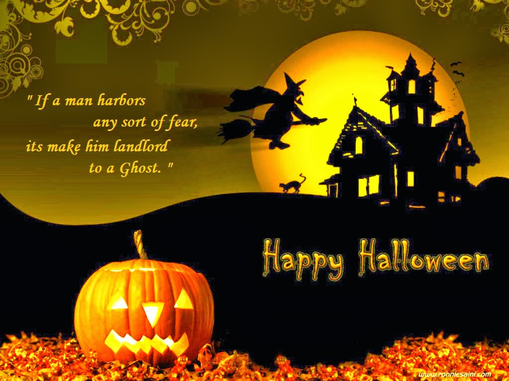 Marvelous Halloween Card Messages