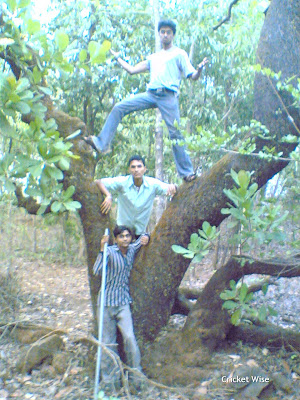 Me and my 3 friends jungle adventure