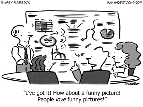 Visual Marketing Funny Humor Images, Cartoons