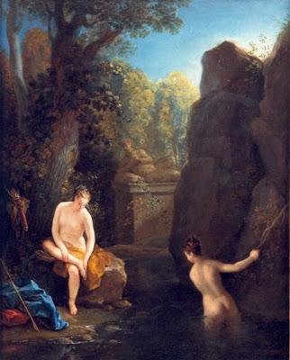 Jean RAoux - Diane au bain