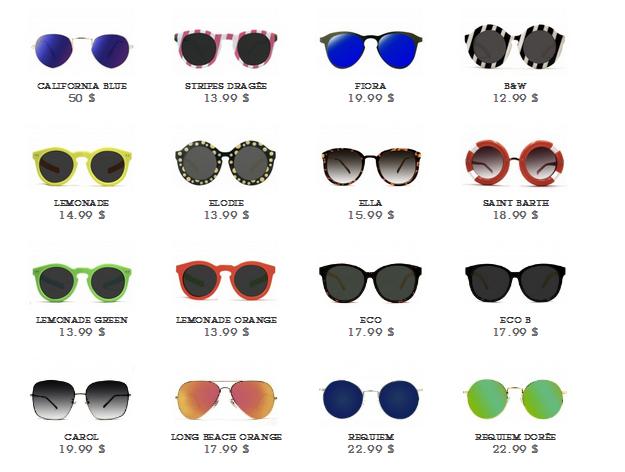 polette, gli occhiali più trendy del web