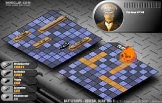 Jogo de Batalha Naval.