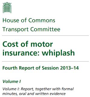 Cost of motor  insurance: whiplash