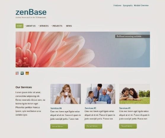 Zenbase Responsive Joomla Template