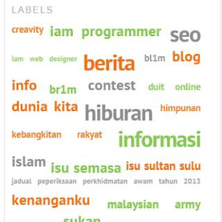 Cloud Label Thesis Blogger