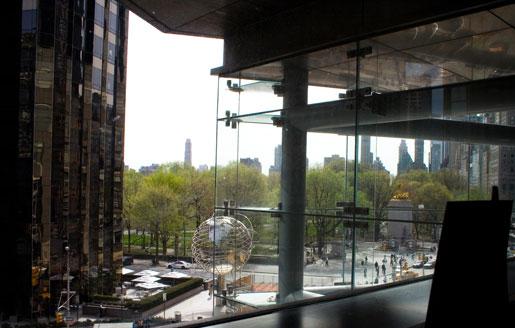 Fogo alto dica de viagem restaurante landmarc em new york for 10 columbus circle 3rd floor