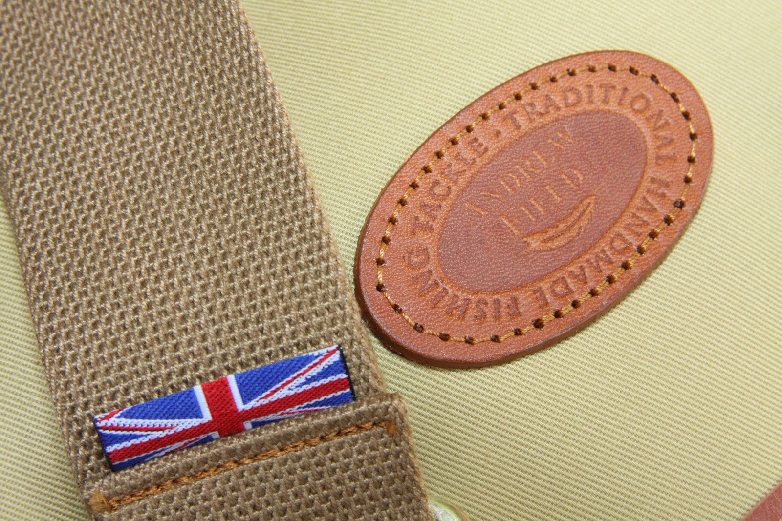 British Hand Stitched Fishing Bag