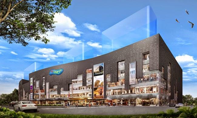 Phối cảnh trung tâm thương mại Sài Gòn SC VivoCity