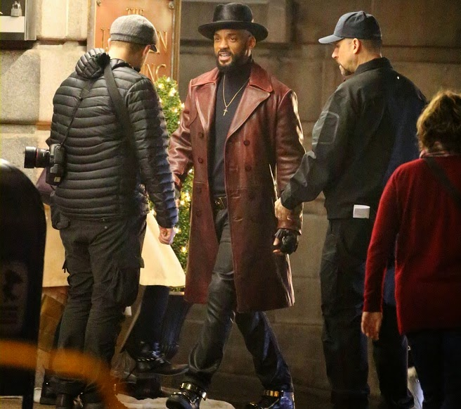 Will Smith Set Photos