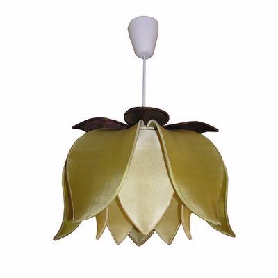 Celebrated style lotus flower lights - Flower shaped lamp shades ...
