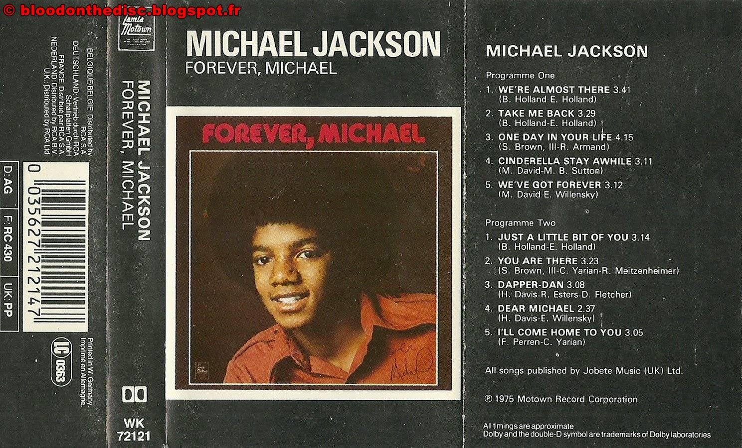 Forever Michael K7 Cover