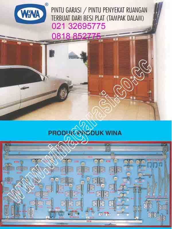 Jual Pintu Garasi Kayu dan Pintu Garasi Besi: Jual Pintu Wina