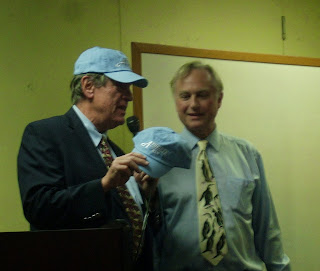 Dawkins and a cap