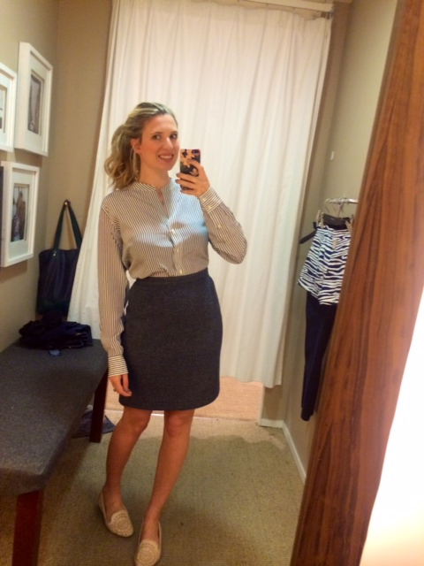 Gant Tweed skirt