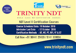 NDT Level II Certification Courses - October 2016