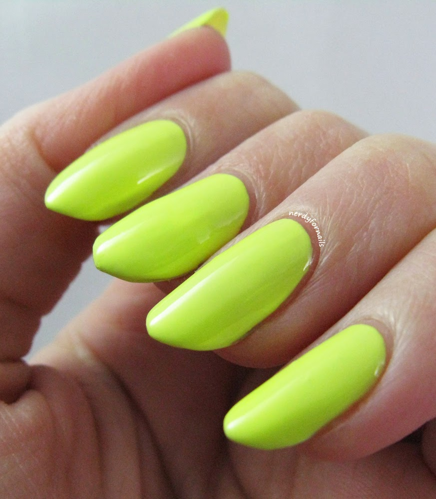 Orly Key Lime Twist Swatch Sugar High Collection Spring 2015