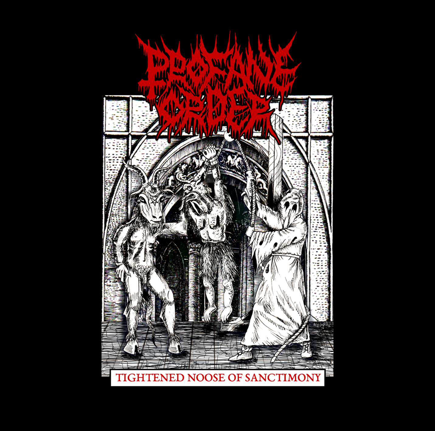 Profane Order - Tightened Noose of Sanctimony - Press Release + Full Stream.