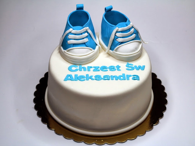 Christening Cake  - Bespoke London Cakes