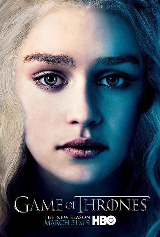 Daenerys poster 3T - Juego de Tronos en los siete reinos